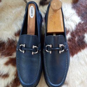 COPY listed Salvatore Ferragamo blue shoes